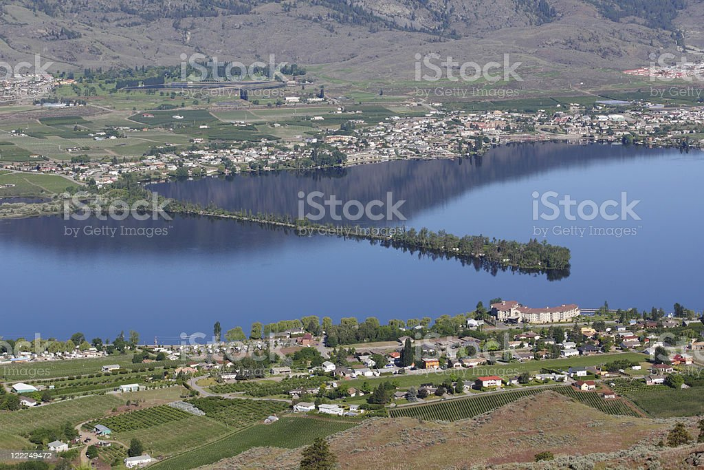 Hayne's Point Provincial Park, Osoyoos, BC. stock photo