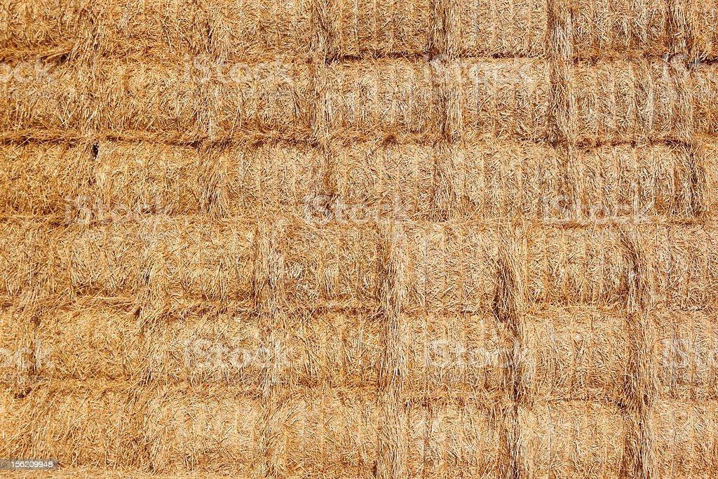 Haystack Bales Background royalty-free stock photo