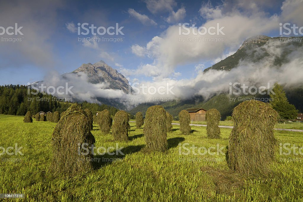 haystacks - 'Huanza' stock photo