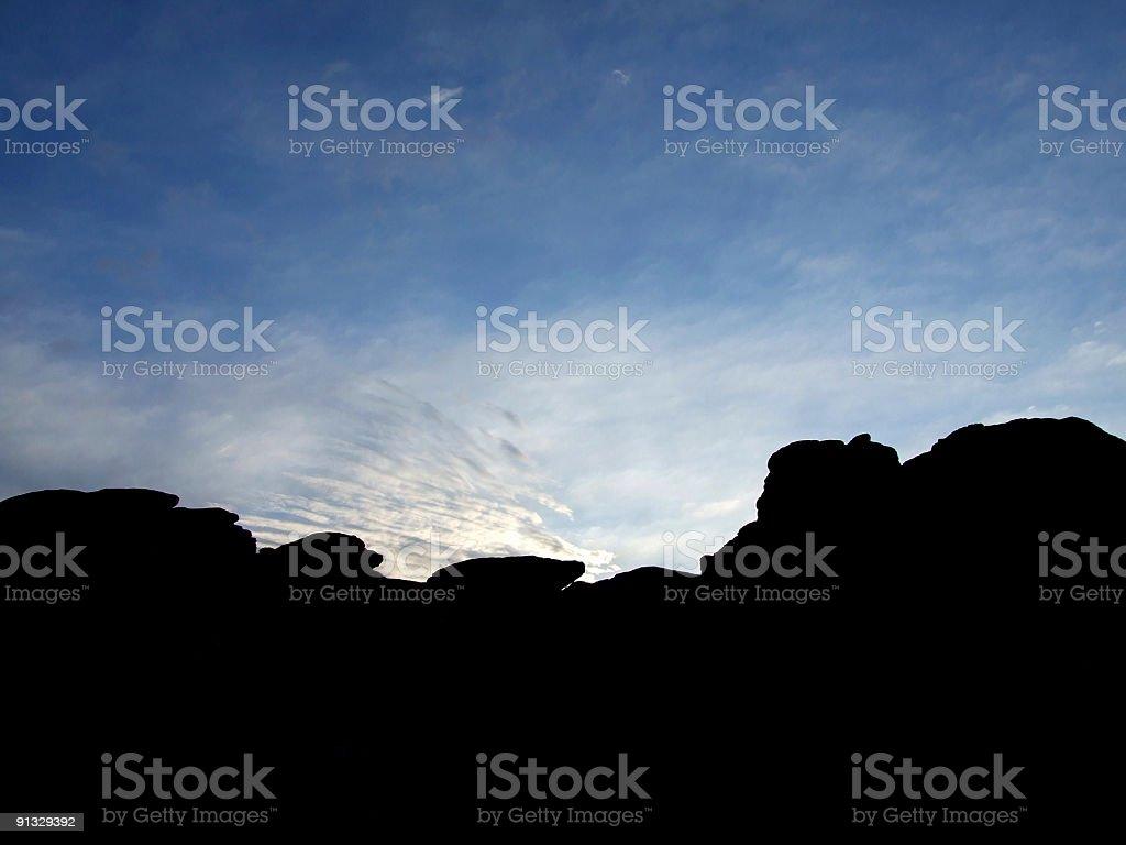 Haytor Rocks, Dartmoor National Park stock photo