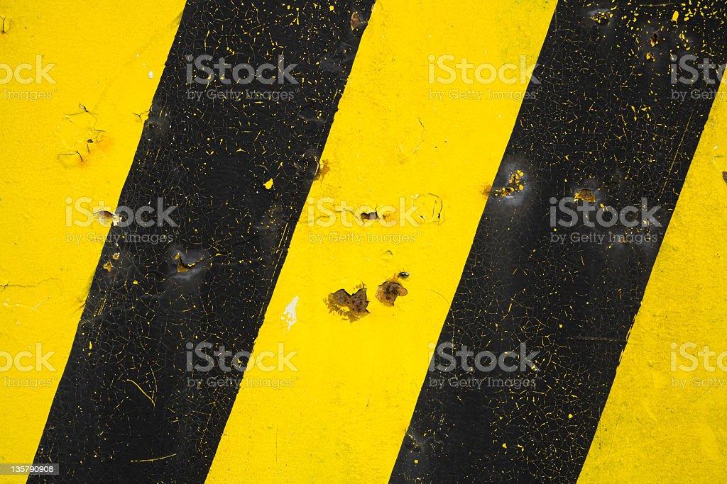 Hazard stripes background royalty-free stock photo