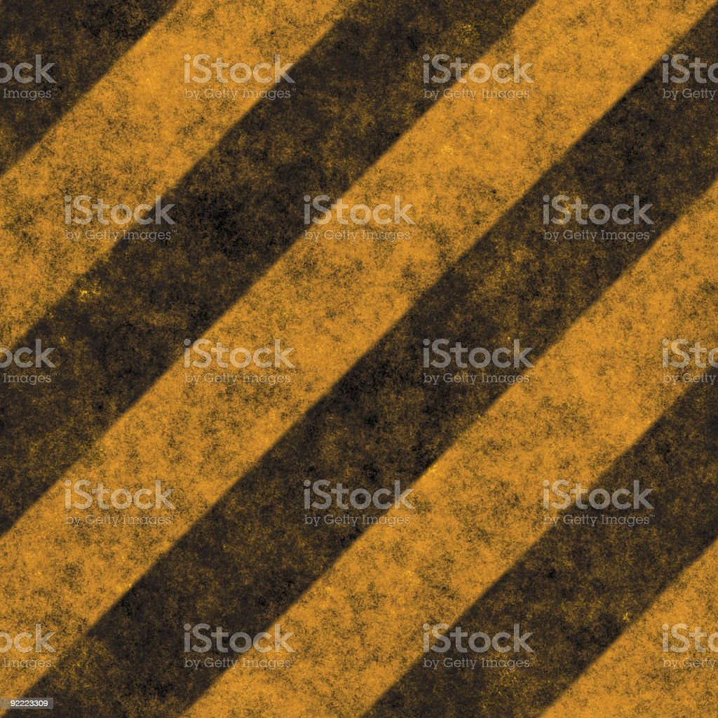 Hazard Stripes royalty-free stock photo