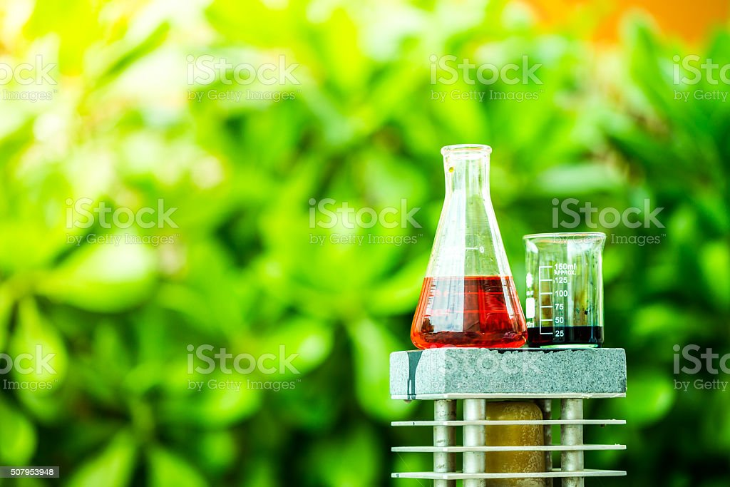 Hazardous Chemicals stock photo