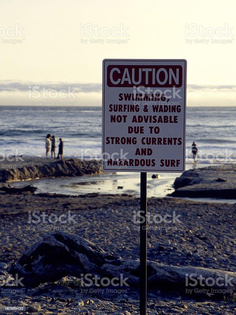 hazardous conditions royalty-free stock photo