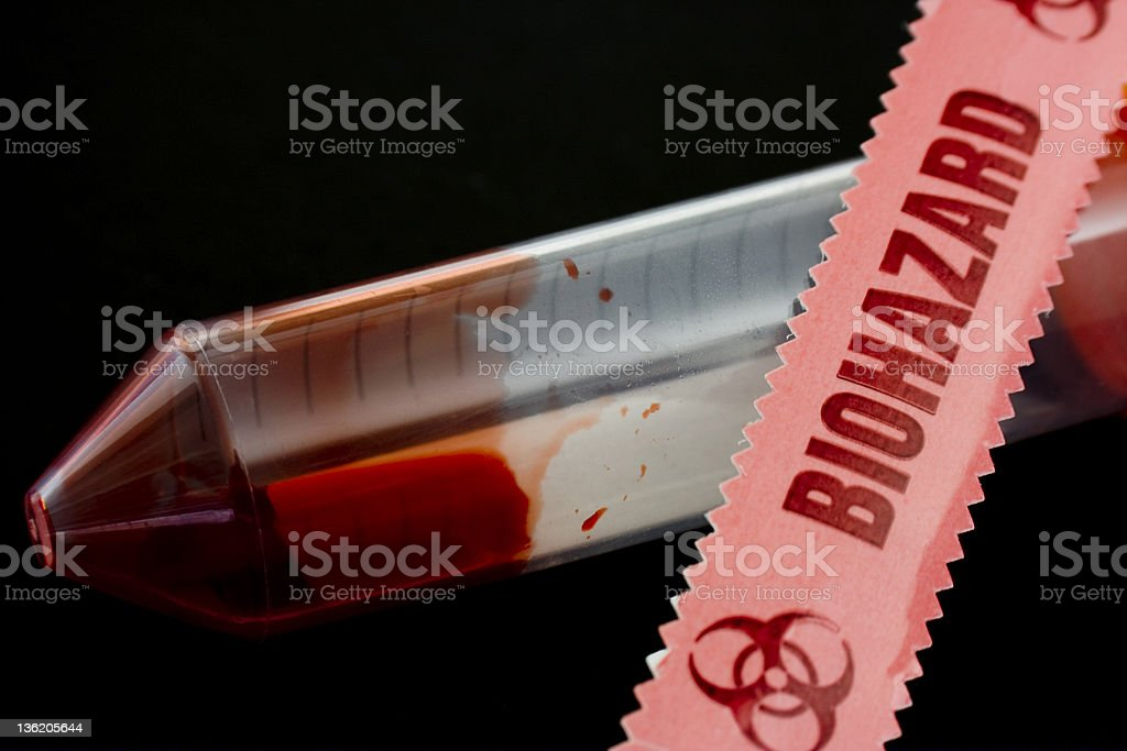 Hazardous Material royalty-free stock photo