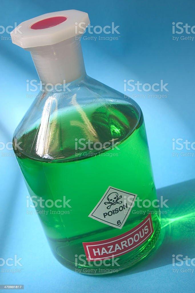 Hazardous royalty-free stock photo