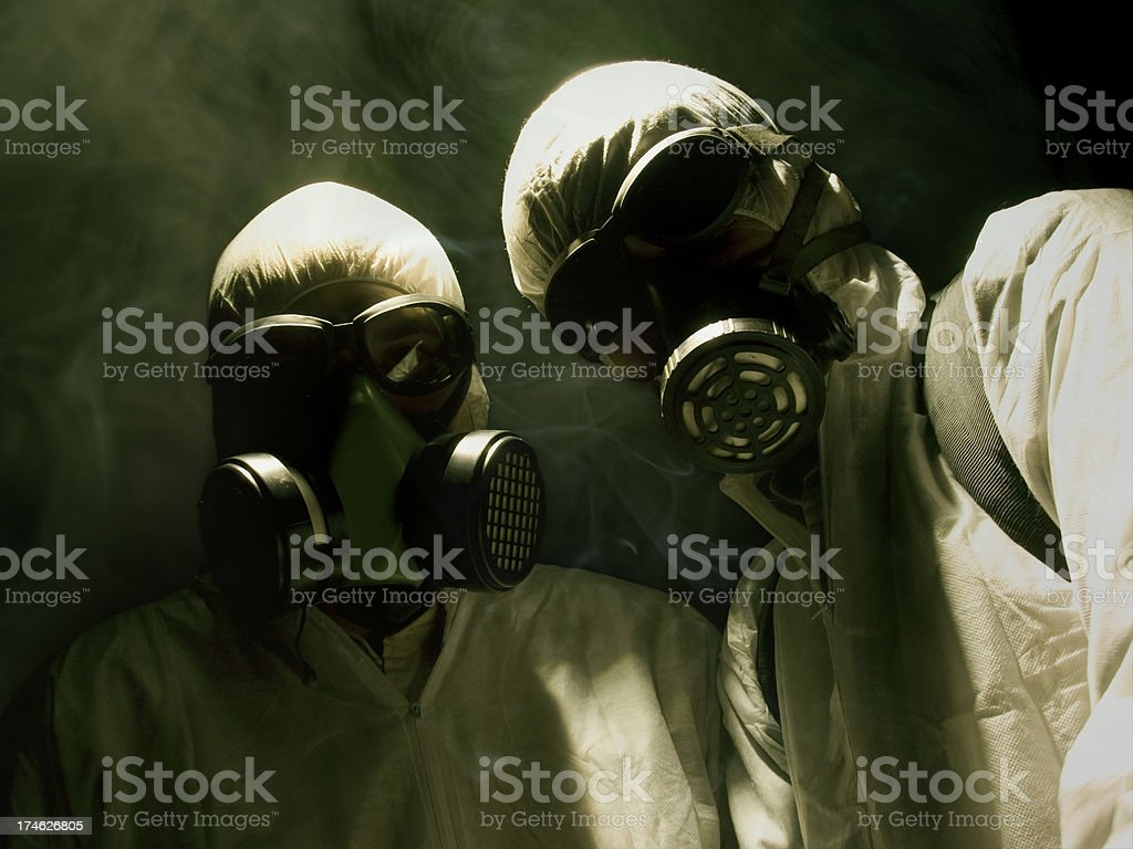 HazardSmoke royalty-free stock photo