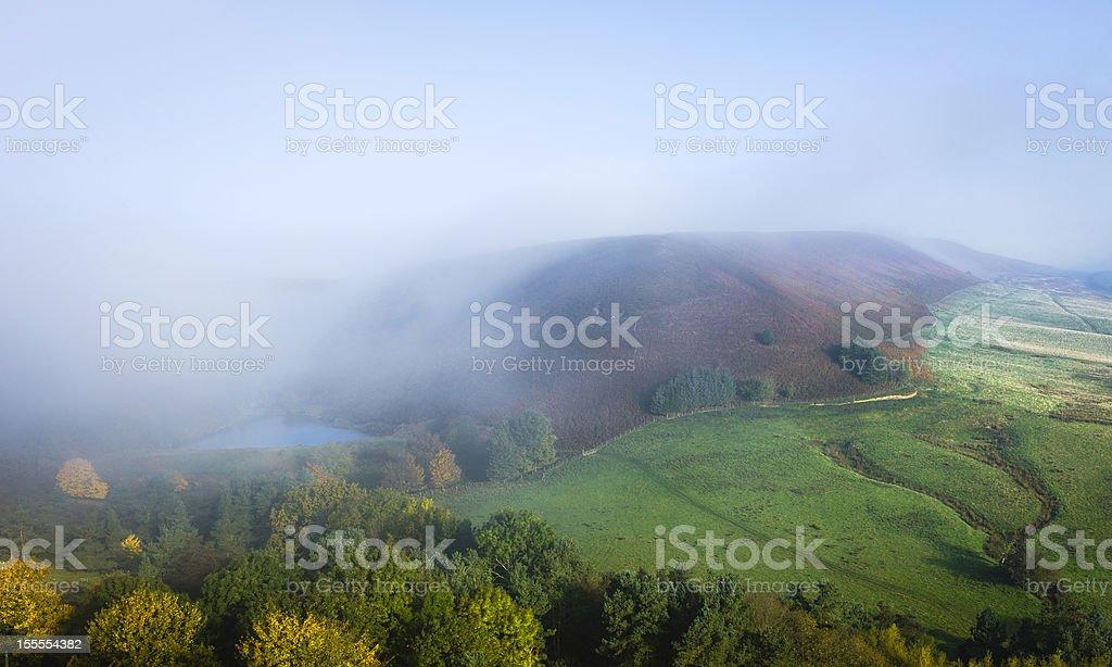 Hazelhead Moor, North York Moors, Goathland, Yorshire, UK. stock photo