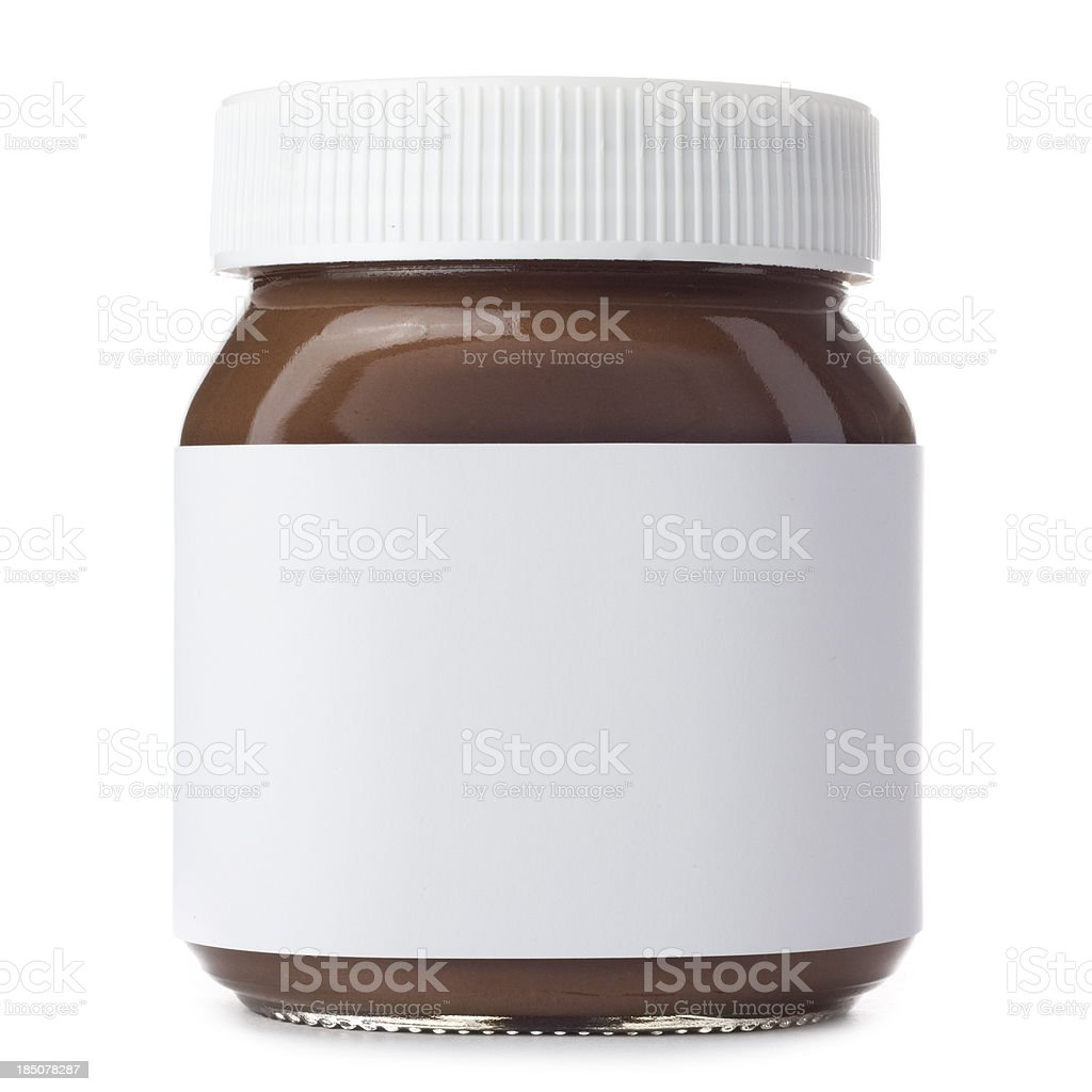 Hazelnut Spread stock photo