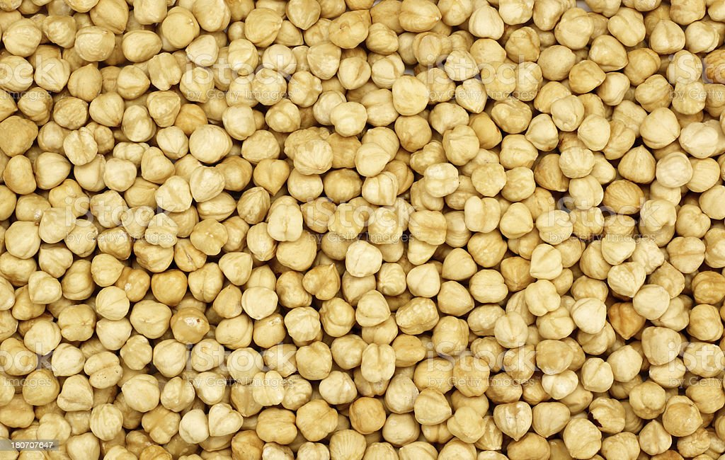Hazelnuts (Click for more) royalty-free stock photo