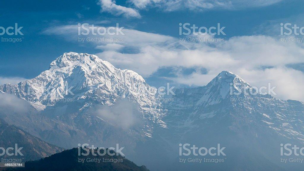 hazy giants stock photo