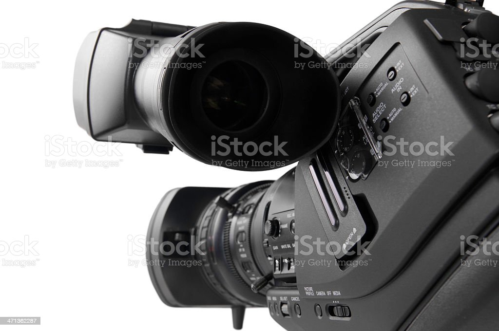 HD-cam, Camcorder royalty-free stock photo