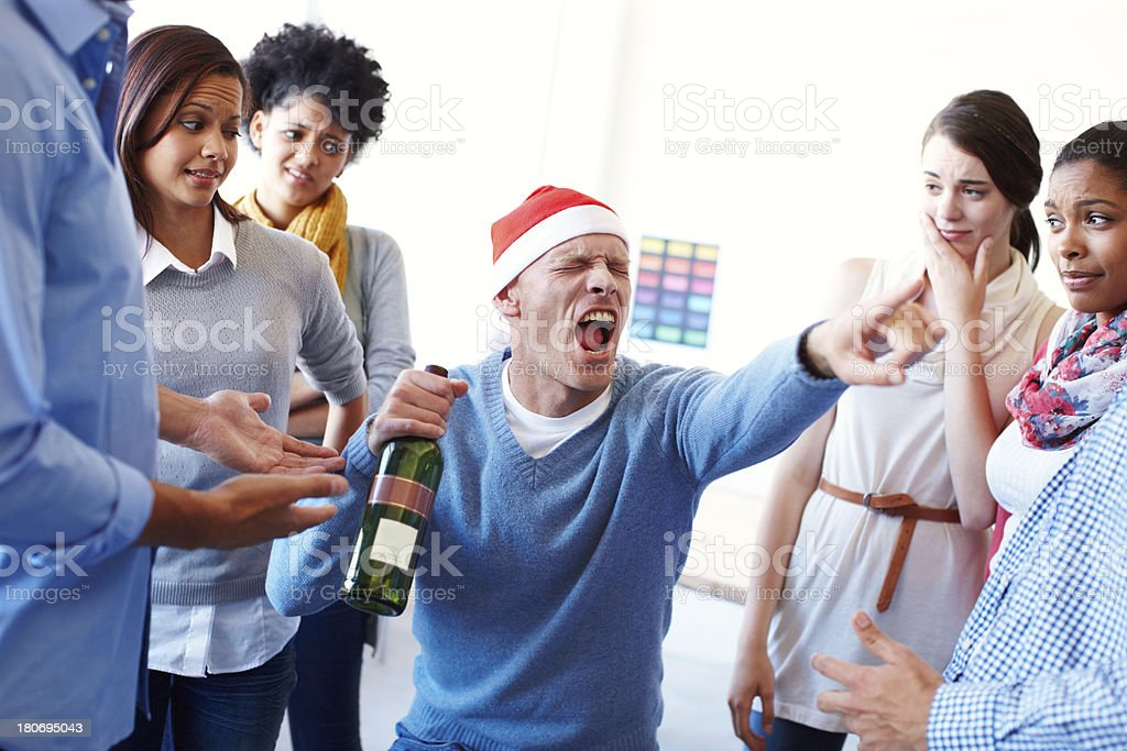 He always goes too far royalty-free stock photo