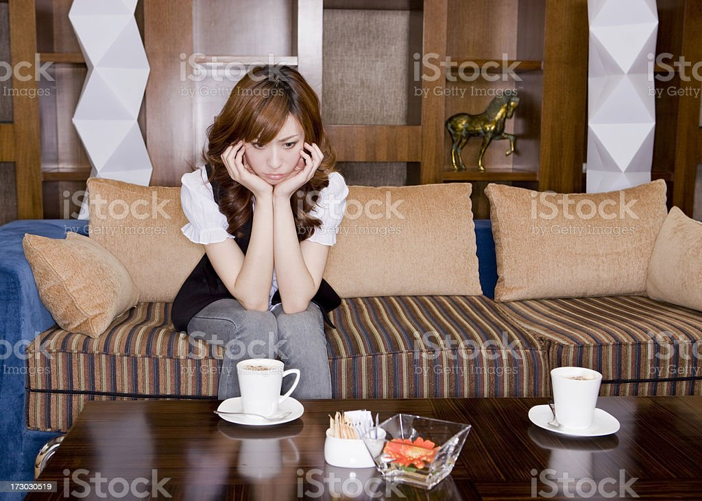 He dumped me royalty-free stock photo