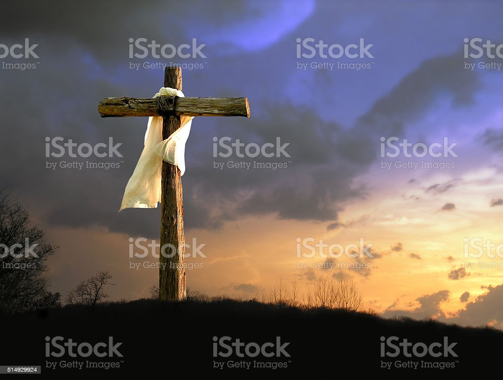 He Hath Done This stock photo