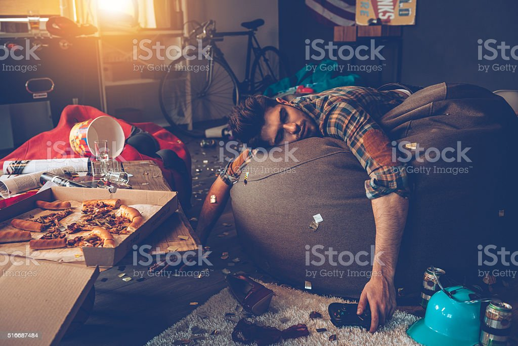 He is out. stock photo
