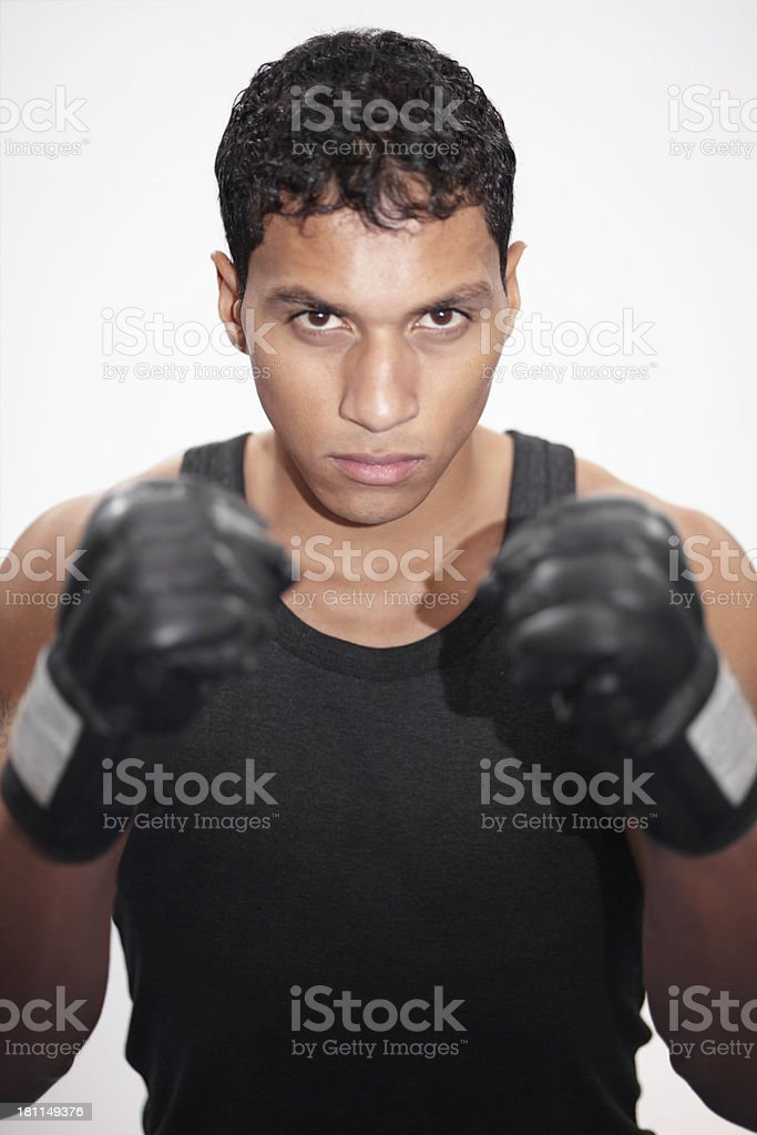 He is ready to take you on royalty-free stock photo