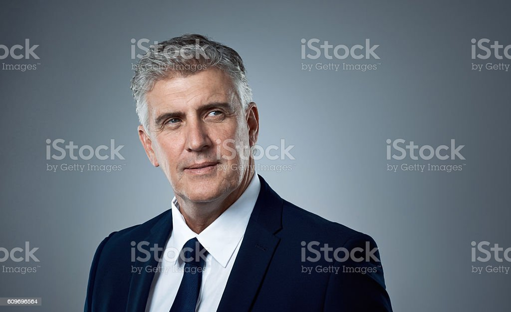 He knows a business opportunity when he sees one stock photo