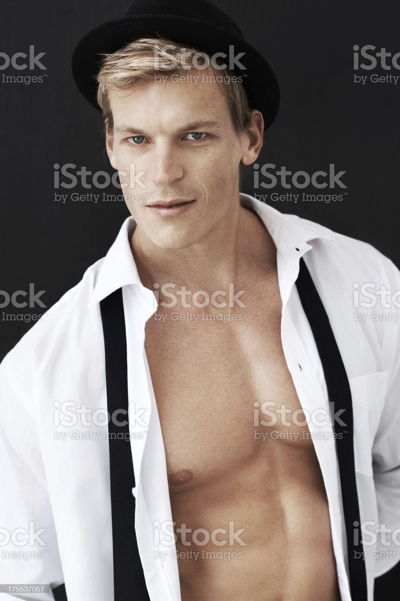 He makes being cool look easy royalty-free stock photo