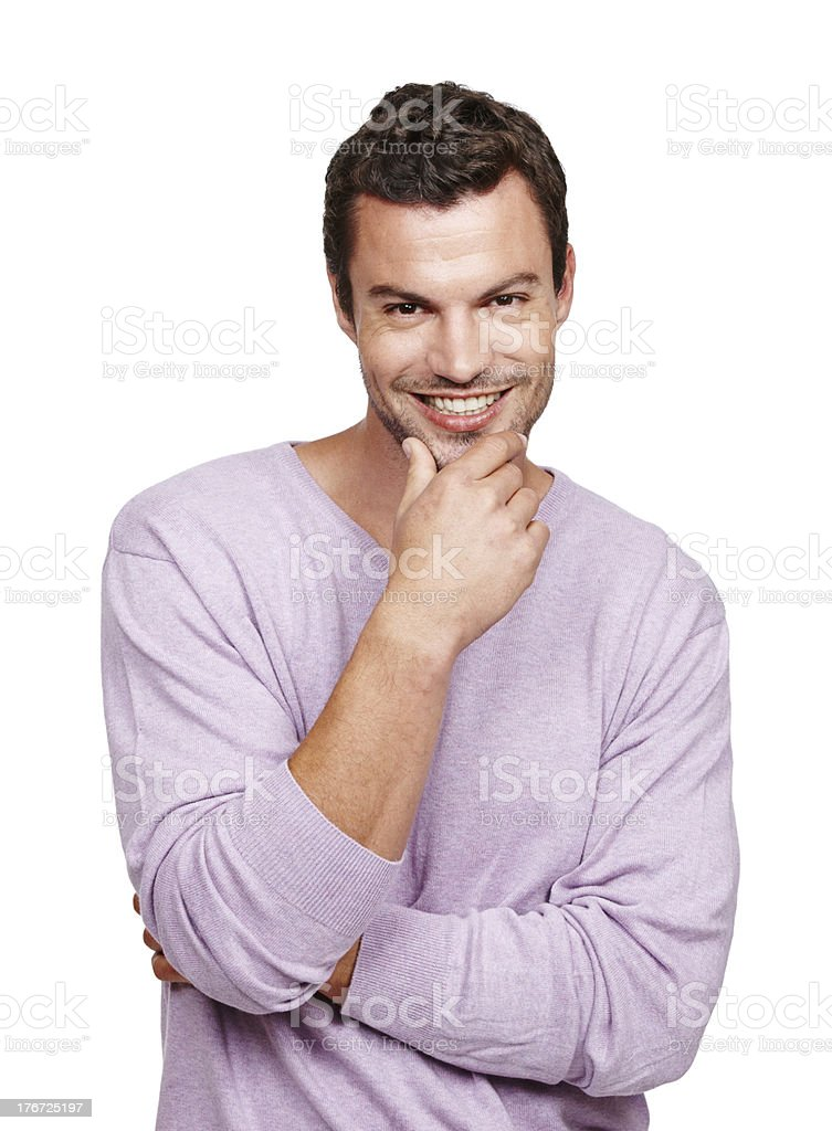 He makes the ladies swoon royalty-free stock photo