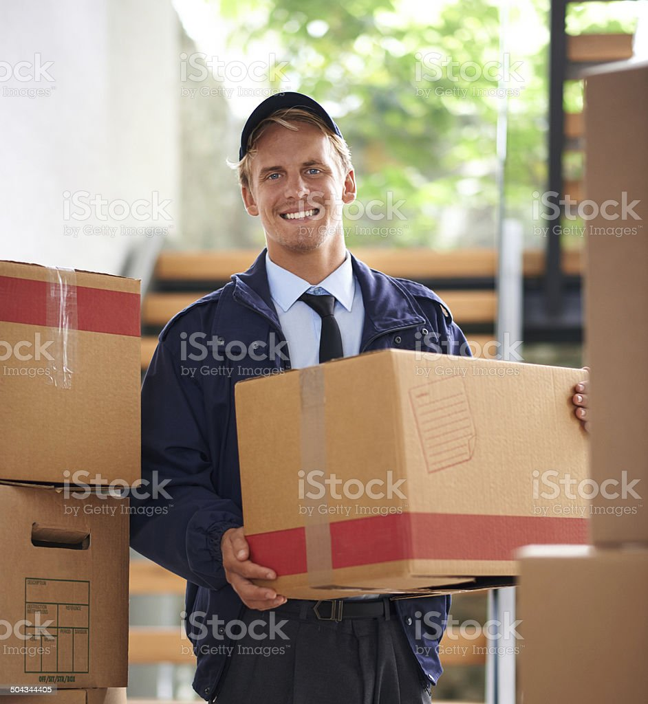 He strove to be professional and efficient stock photo