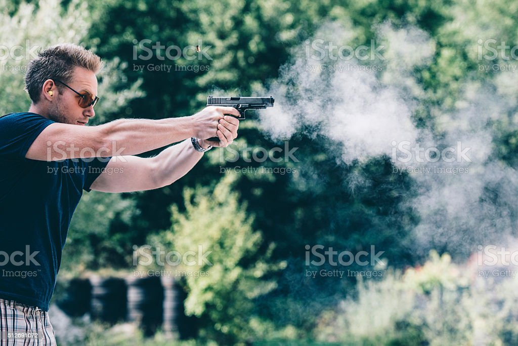 He takes his training very seriously stock photo