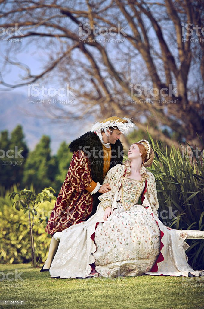 He treats her like the queen she is stock photo