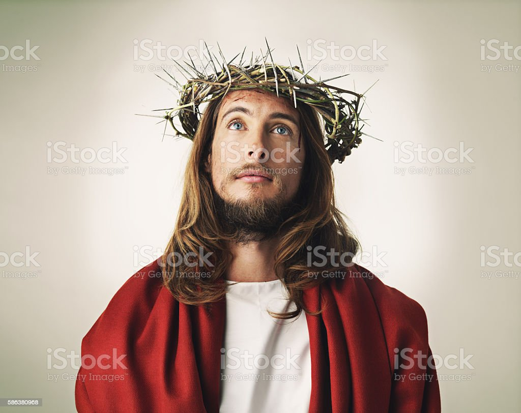 He turned it into a crown of glory stock photo