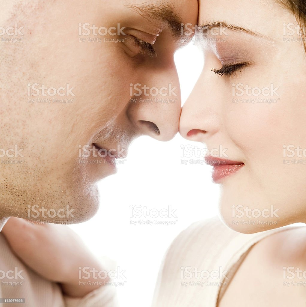 Head and Nose royalty-free stock photo
