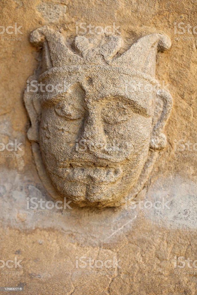 Head Carving royalty-free stock photo