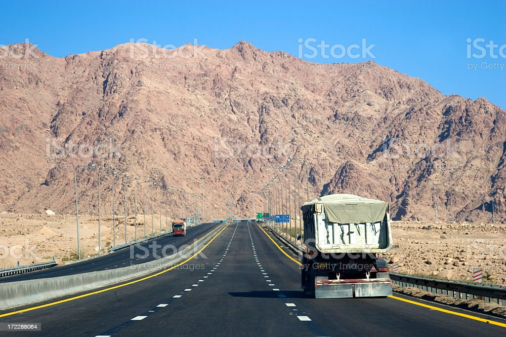 Head for the hills royalty-free stock photo
