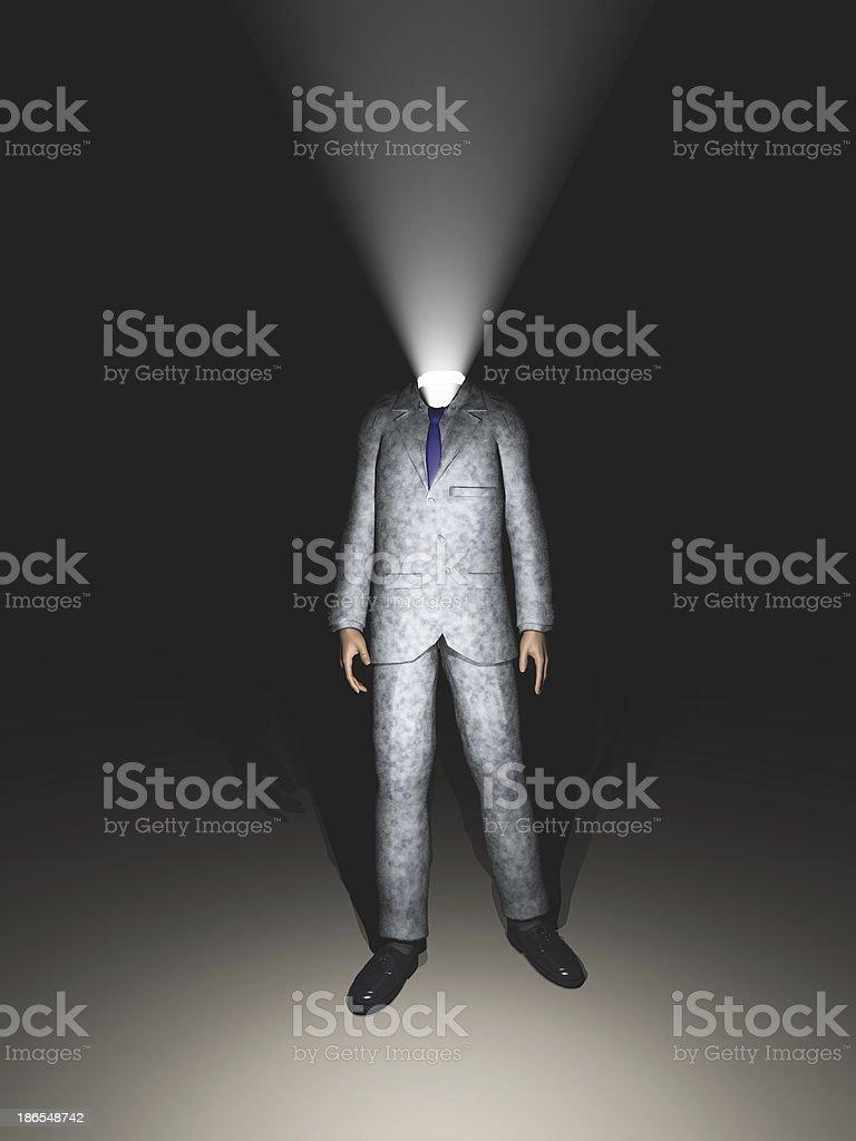 Head Light royalty-free stock photo
