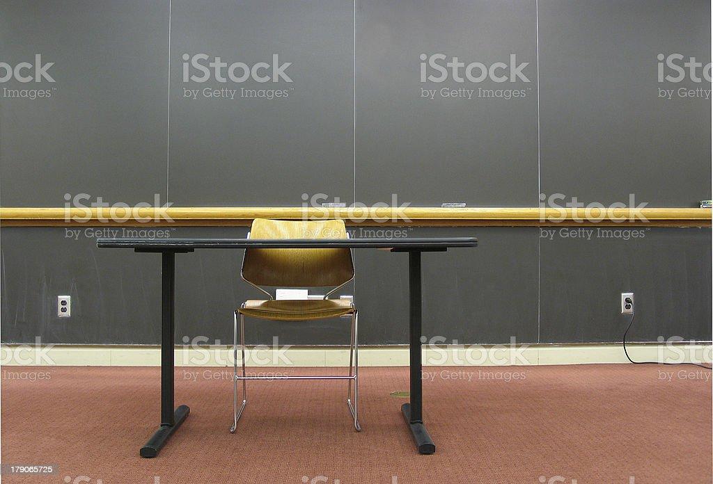Head of class royalty-free stock photo