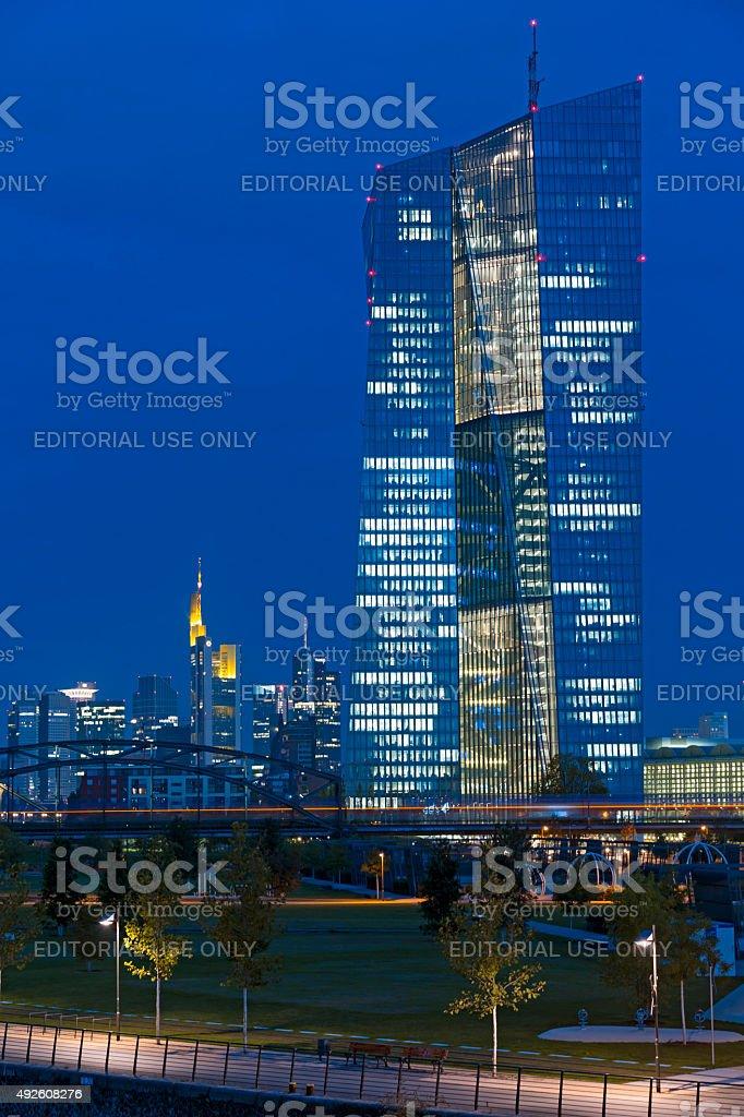 ECB 本社 ロイヤリティフリーストックフォト