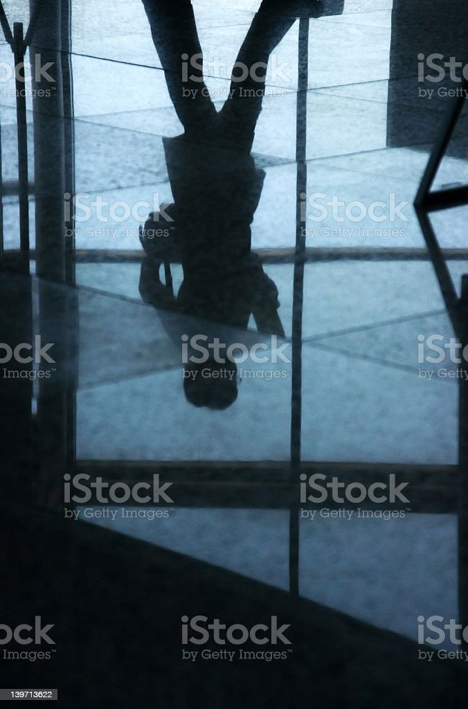 Head over heels royalty-free stock photo