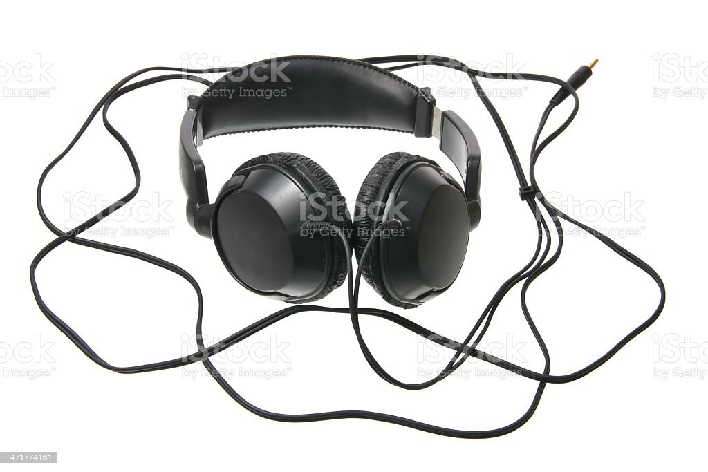 Head Phone royalty-free stock photo