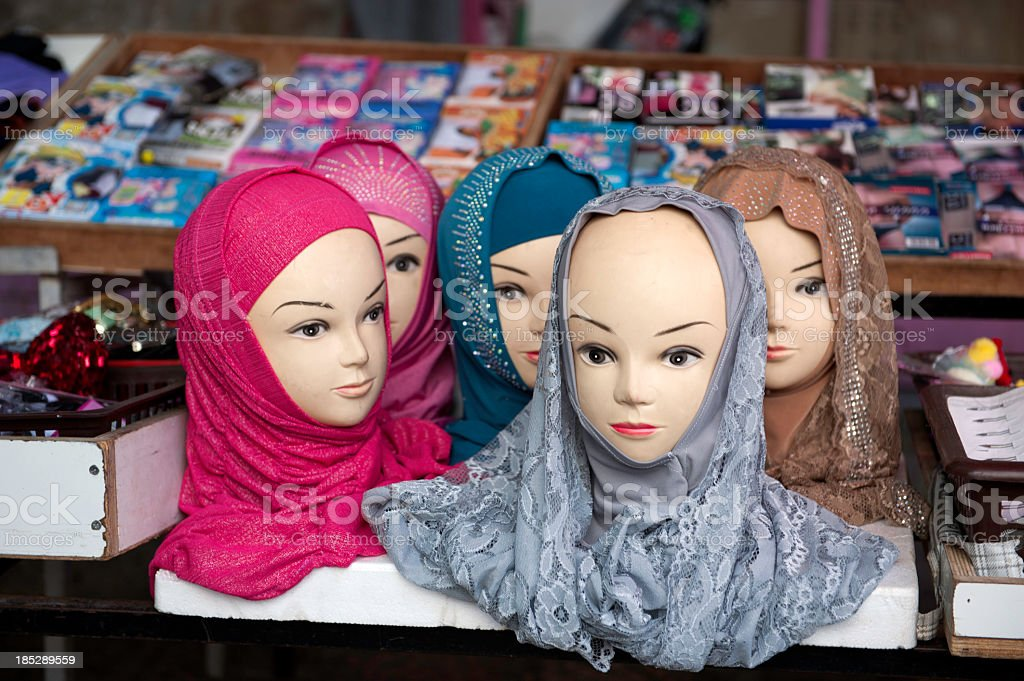 Head Scarves stock photo