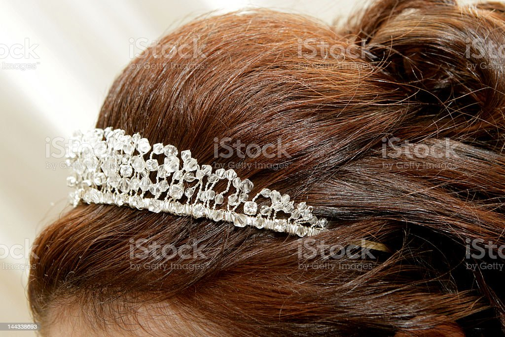 Head Tiara royalty-free stock photo