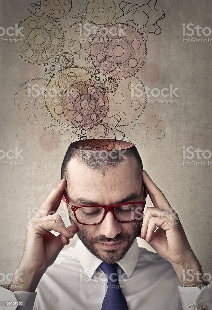 Head void stock photo