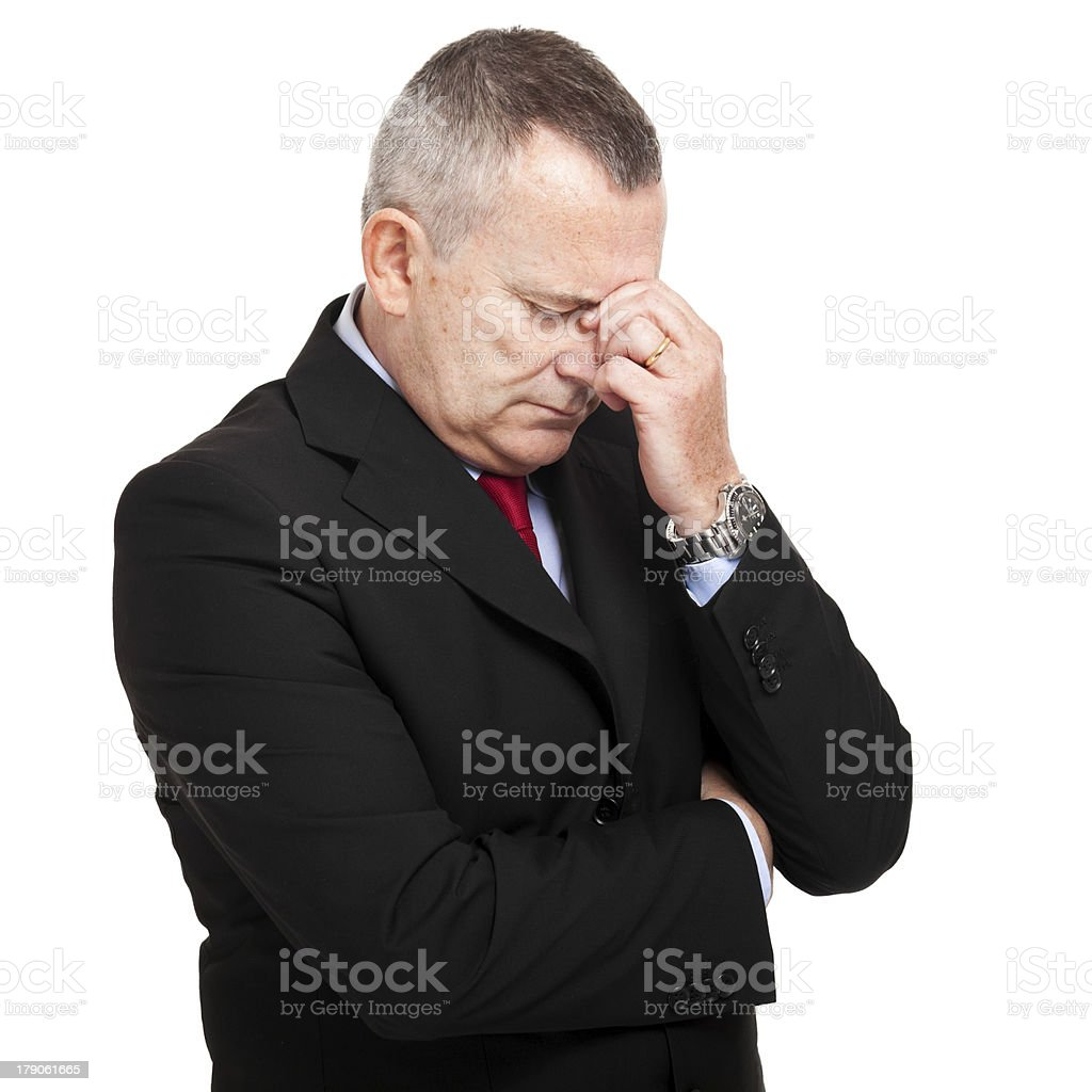 Headache royalty-free stock photo