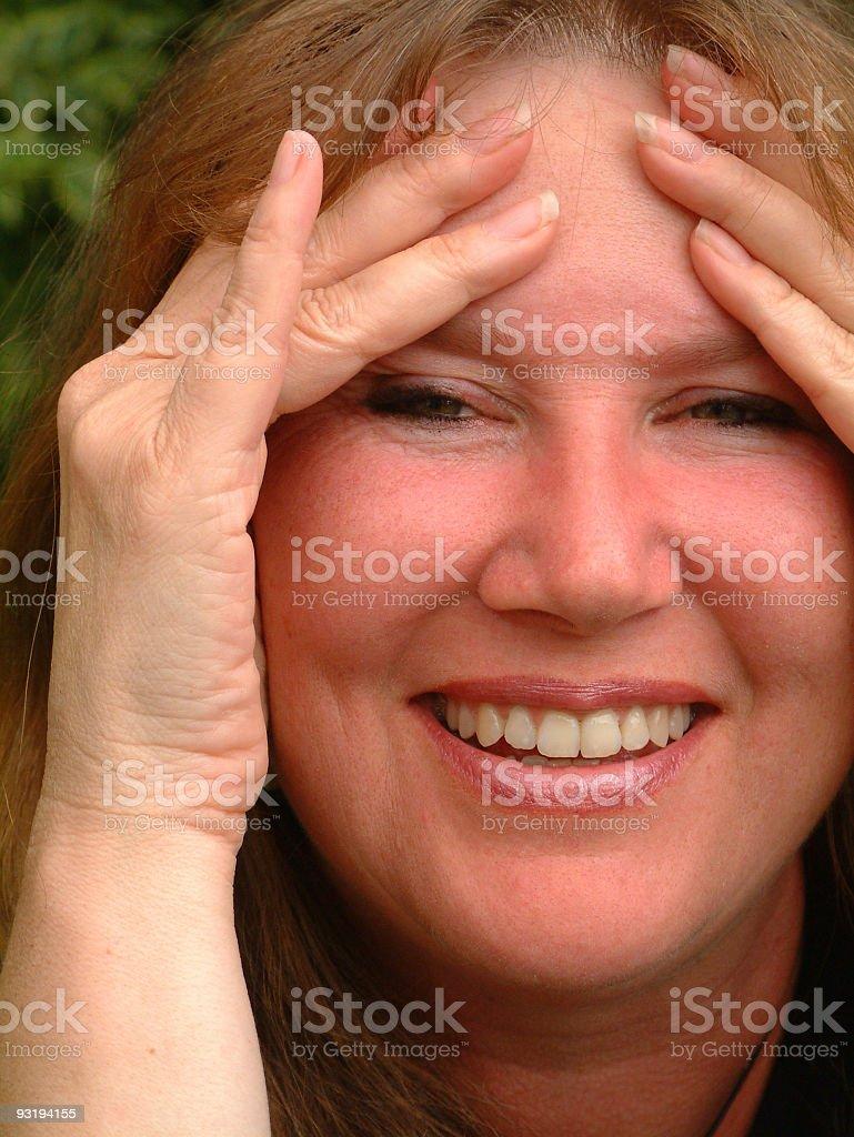 Headache? royalty-free stock photo