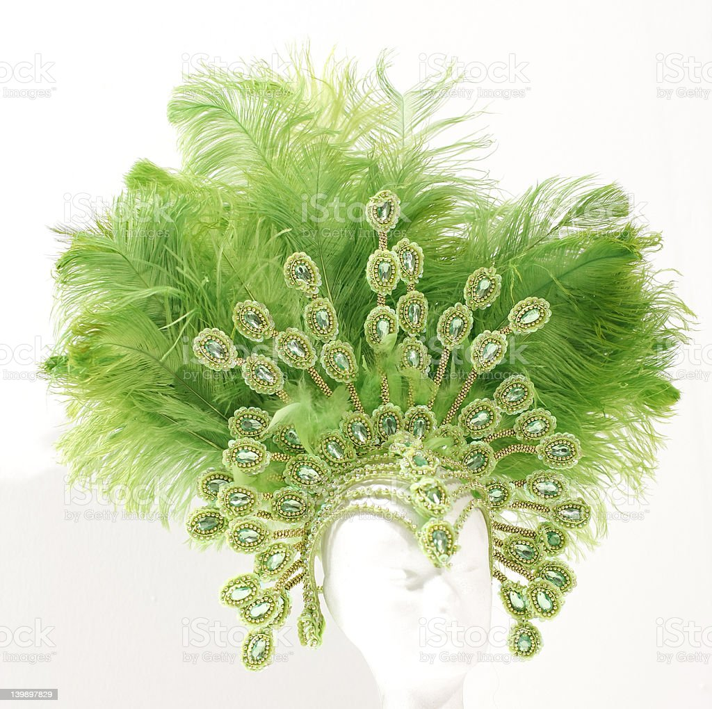 headdress stock photo
