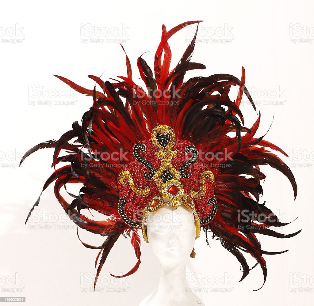headdress royalty-free stock photo