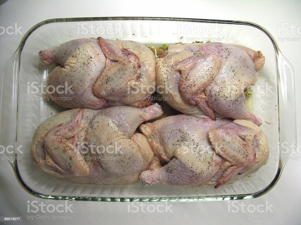 Headed to the Oven! royalty-free stock photo