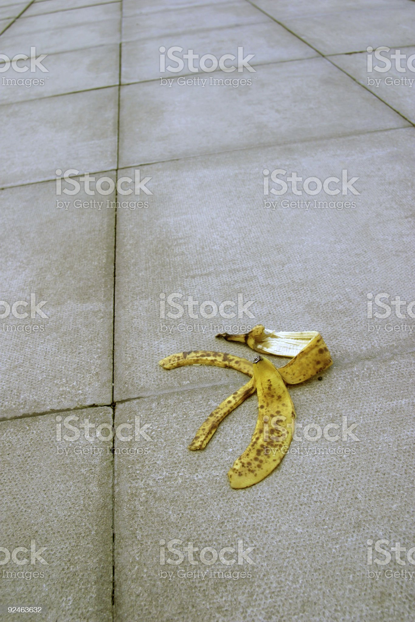 Heading for a fall royalty-free stock photo