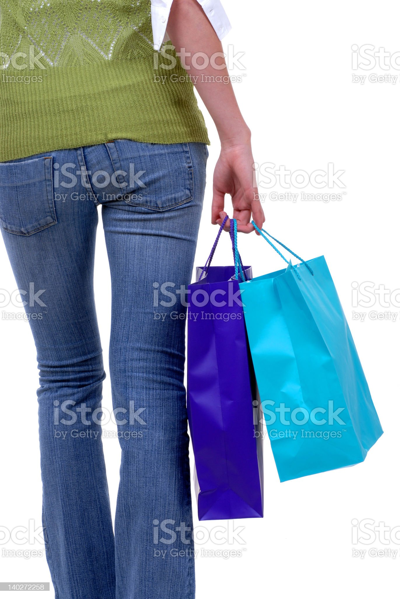 Heading for the Next Sale royalty-free stock photo