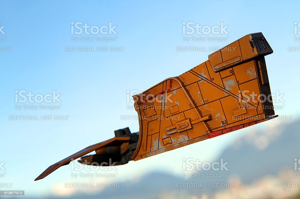 Heading Skyward stock photo