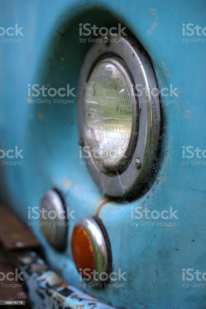 Headlamp stock photo