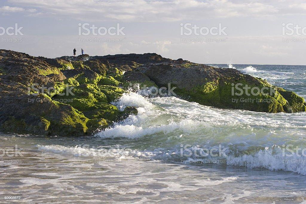 Headland royalty-free stock photo