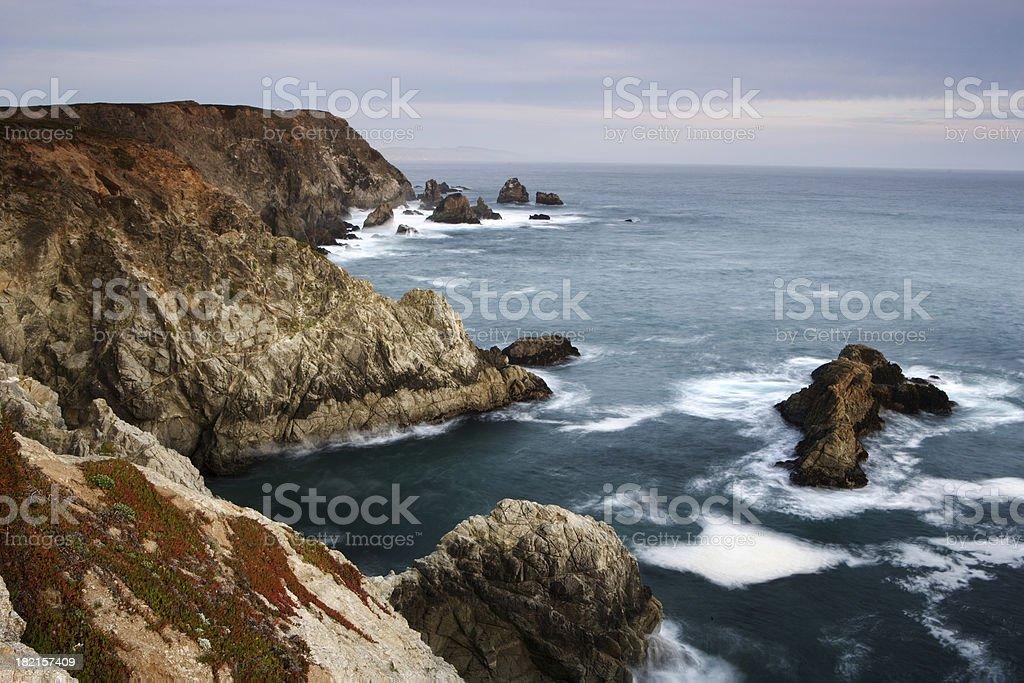 Headlands royalty-free stock photo